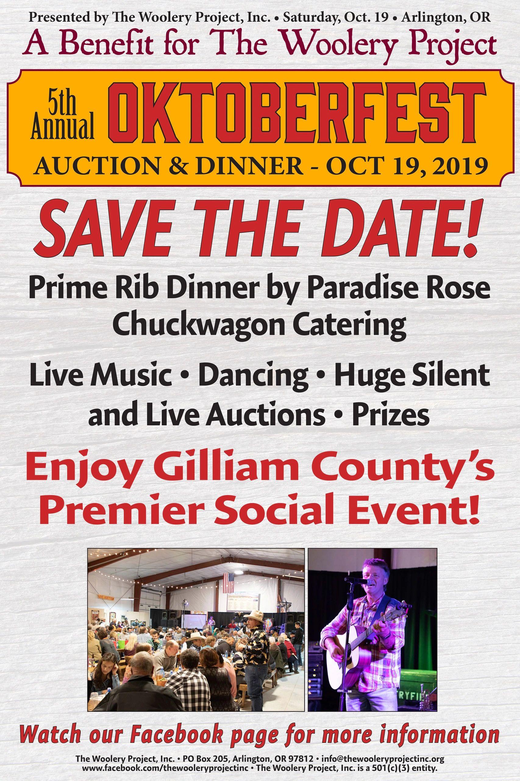 2019 Oktoberfest Auction   The Woolery Project, Inc