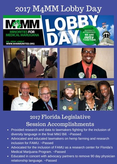 lobby days cannabis Awareness legislation and public policy in Florida