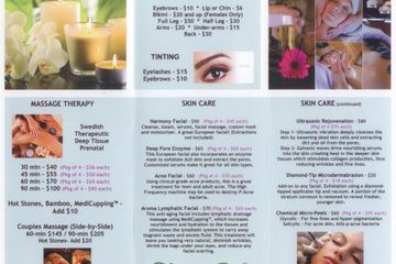 Click on this link to find a list of spa services offered at Studio615 salon & spa