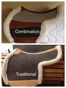 Combination /Traditional  Combination Pad choice felt under panels & 25% flaps Traditional 1 felt