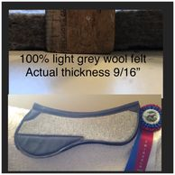 Our Premium 100% wool felt Highest concussion absorption All the benefits of wool