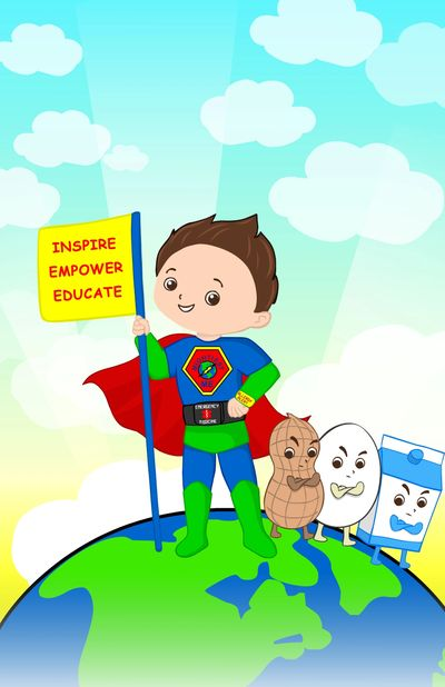 Mighty Jax and Mightiest Me want to educate about food allergies and inspire and empower everyone with allergies!