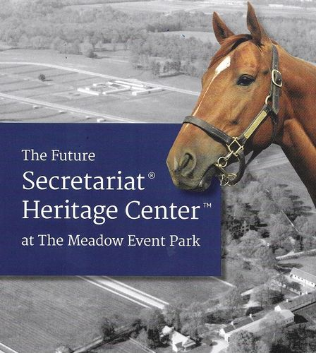 Secretariat, legendary Triple Crown champion, born at The Meadow in Virginia.