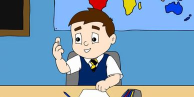 Primary 1 cartoon image