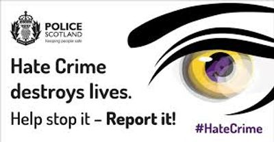 Police Scotland Hate Crime Reporting Image