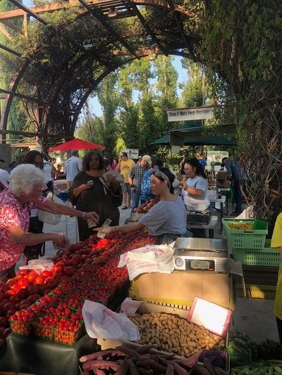 Mao Farms, has been selling their produce at Vineyard Farmers Market since 2000.