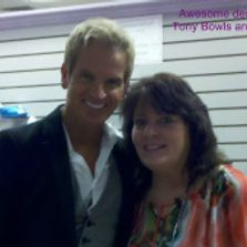 Dawn Brooky with Tony Bowls