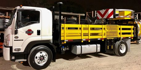 Crash truck rental available for the Houston, TX, area