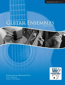Guitar Ensembles for Beginners of all ages by Nancy Marsters and Dawn Wooderson.