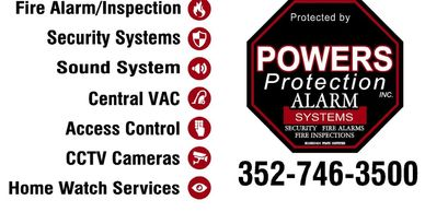 Powers Protection Alarm System
