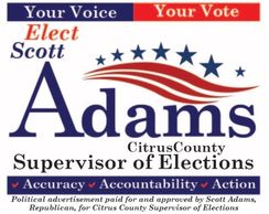 Scott Adams for Supervisor of Elections