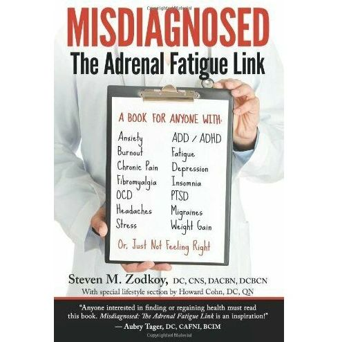 The Adrenal Fatigue Link by Dr. Steven Zodkoy.