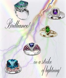 Ladies and Gents 14K Diamond and Gemstone Jewelry