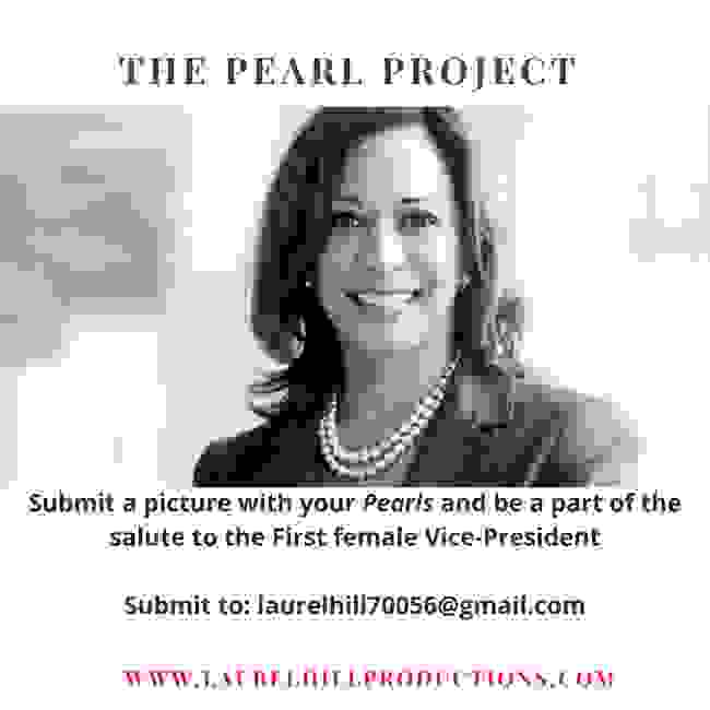 The Pearl Project is designed to salute the new incoming Vice-President.