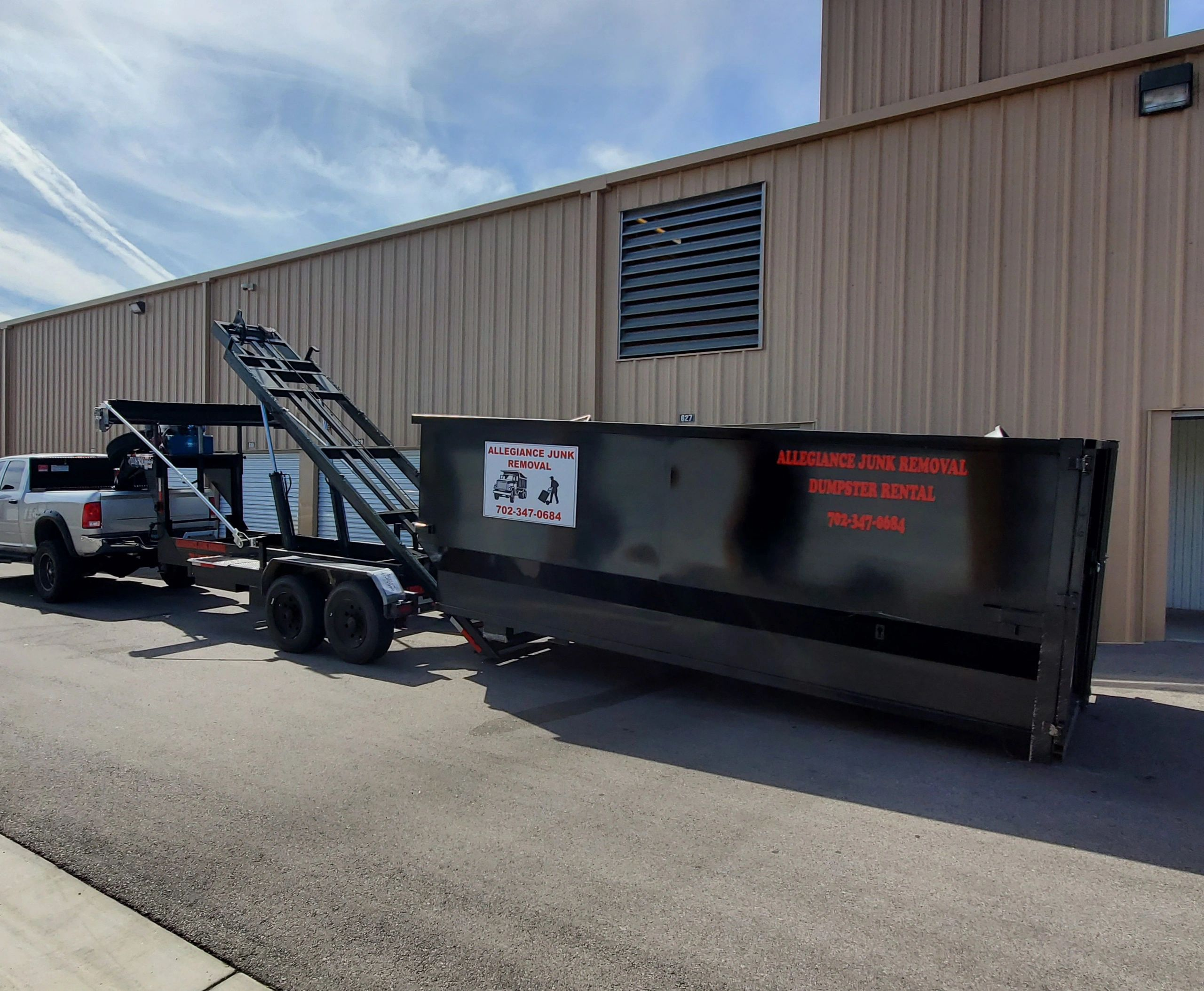 Dumpster Rentals In Las Vegas, Henderson, Paradise, Boulder City, North Las Vegas, and Summerlin