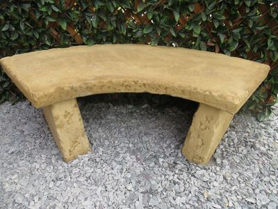 Cotswold Curved Bench