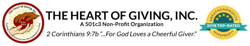 The Heart of Giving Inc