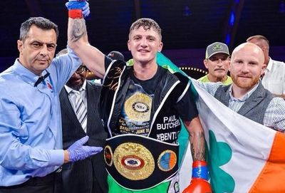 Coyle, NBA Intercontinental Middleweight Champions! Photo Joseph Correa FrontProof Media