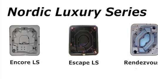 Nordic hot tub Luxury series