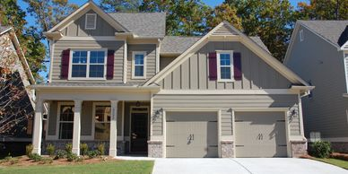 Creekview Park New homes in acworth kennesaw Fortress Builders in Marietta