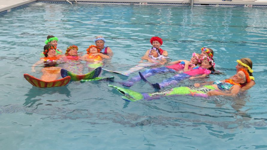 From our Annual HALLOWEEN WATER SHOW @ The Windward YMCA