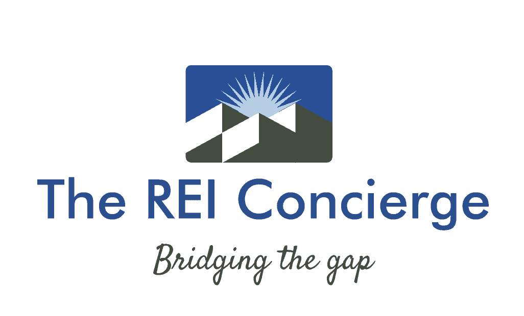 The REI Concierge logo