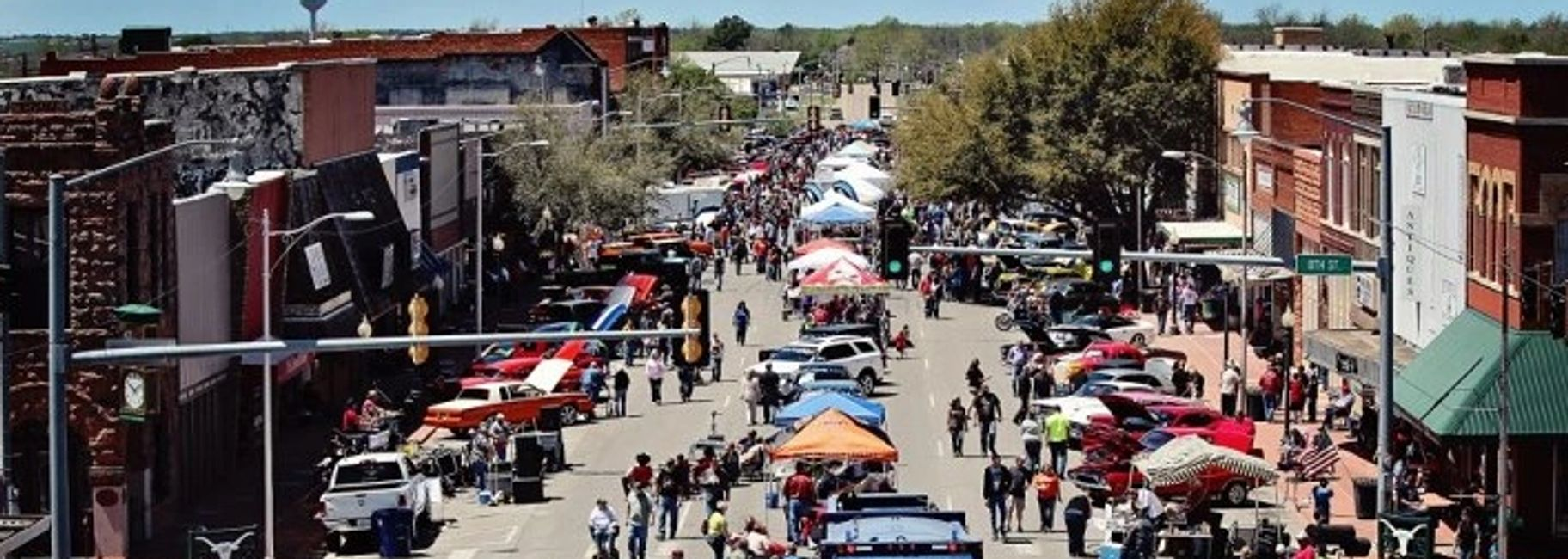 Cruisin' the Chisholm Trail Car Show in Duncan, Oklahoma