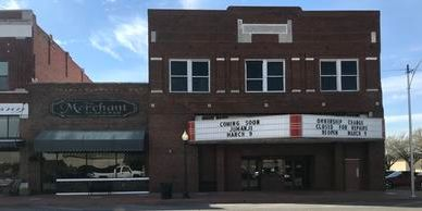 Main Street Duncan commercial property Palace Theater