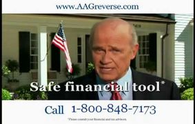 Reverse Mortgage Conservative Seniors Financial products