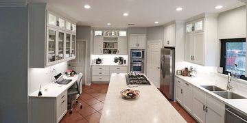 Kitchen Remodel completed by Champion Contractors of Texas