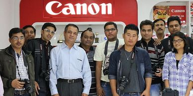 CANON  photography workshop at Canon immage square, Ahmedabad India