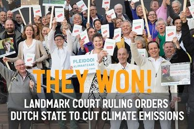 Urgenda won a landmark case ordering the Dutch State to cut climate emissions.