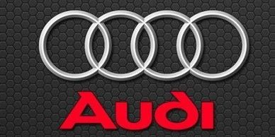The Audi symbol is four ceiling rings that reflect the four manufacturers of Auto Union. Audi Logo.