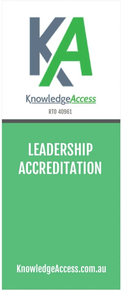 KnowledgeAccess leadership accreditation
