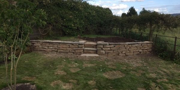 Drystane dyking and new dry stone walls and garden features in Perth Perthshire, Dundee and Angus
