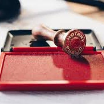 We offer notary services