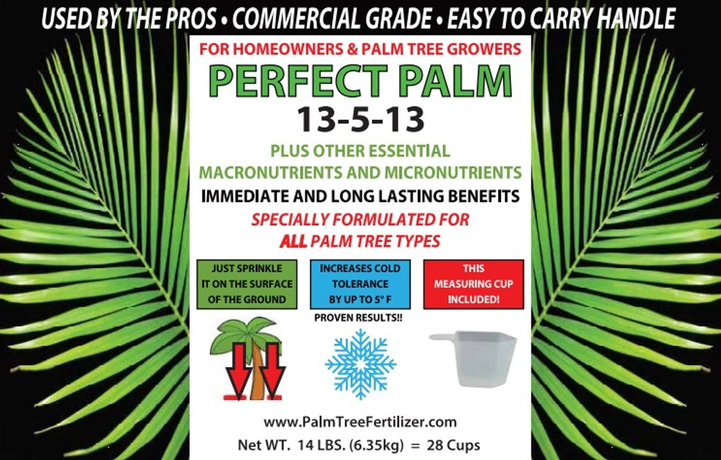 Perfect Palm - The Best Palm Tree Fertilizer For Sale