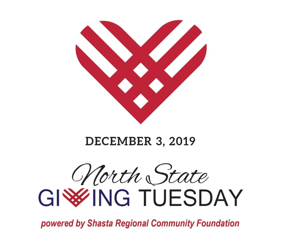North State Giving Tuesday December 3, 2019 with read heart logo