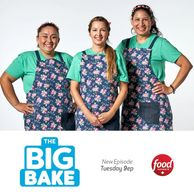 I will be competing on the Food Network Ca Series The Big Bake Spring! April 21 @ 9pm!