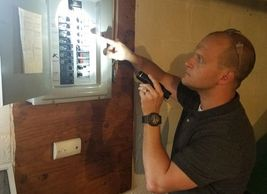 We inspect electrical panels, switches, outlets, during your home inspection
