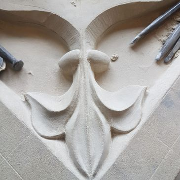 All aspects of traditional masonry and carving available