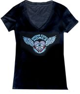 Brown Eyed Women merchandise: Lightweight V neck women's logo T shirt