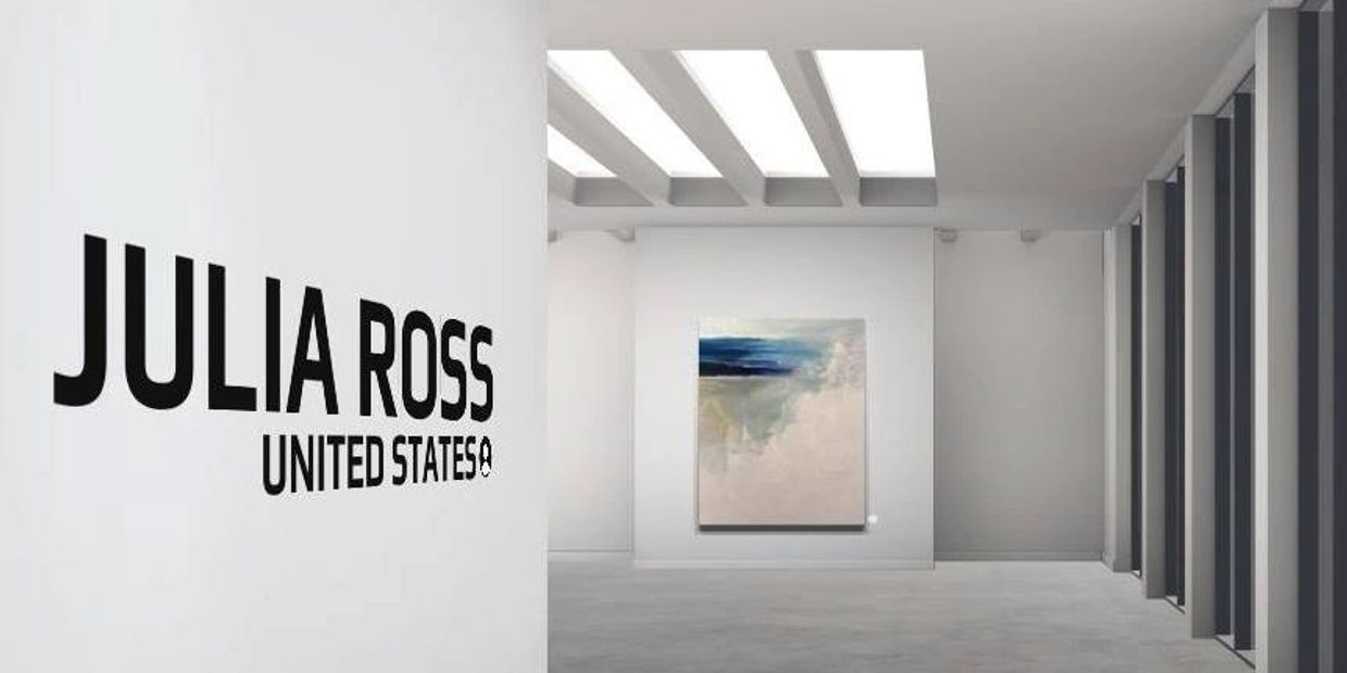 Julia Ross Large Scale Abstract Artist