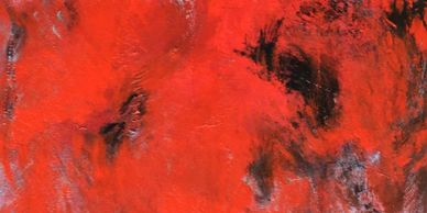 Red Abstract Original Painting for Sale