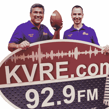 Fountain Lake Football, KVRE radio
