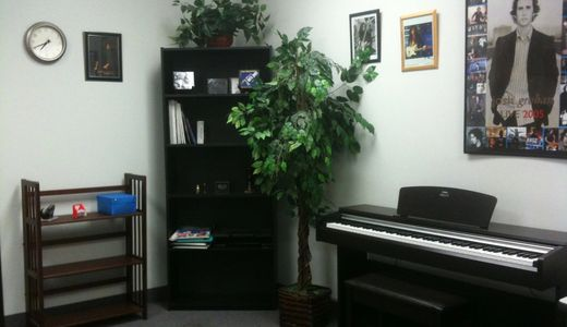 Our Piano Teaching Room