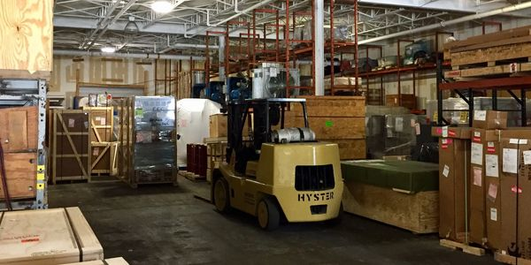forklift, ton, storage, climate control, crate, equipment