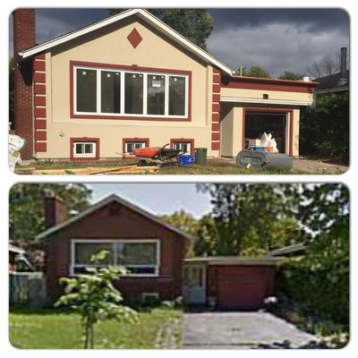 FULL HOME MAKEOVER!- Before and After shot!