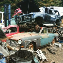 scrap cars mot failures skip hire farm machinery factory clearance scrap iron scrap metal in gwynedd