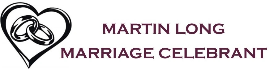 Martin Long             Marriage Celebrant